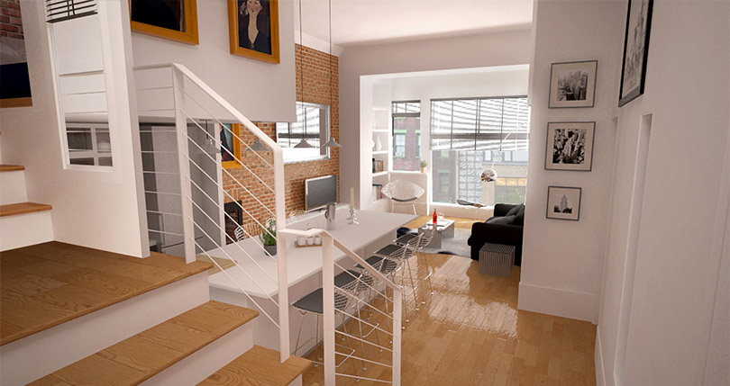 3D_Dining_living room_3D