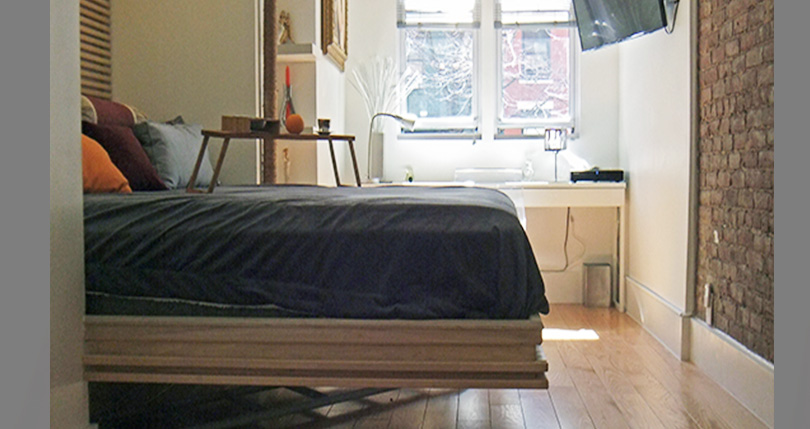 floating king size bed_ no support